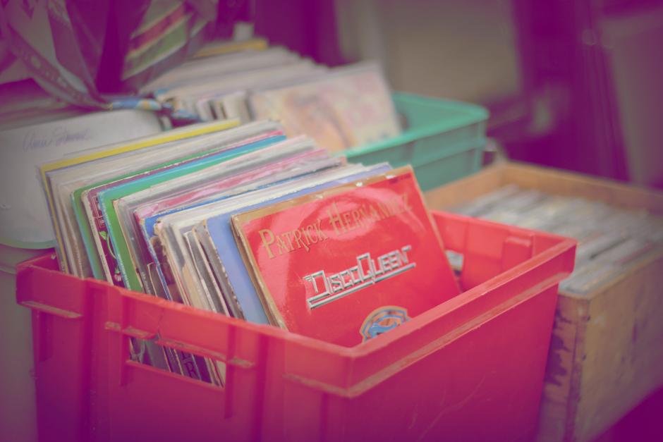 brocante disques